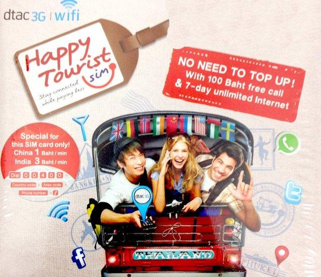 Carte Wifi Thailande.Thailande Les Cartes Sim Prepayee Utilisees En Thailande Doivent